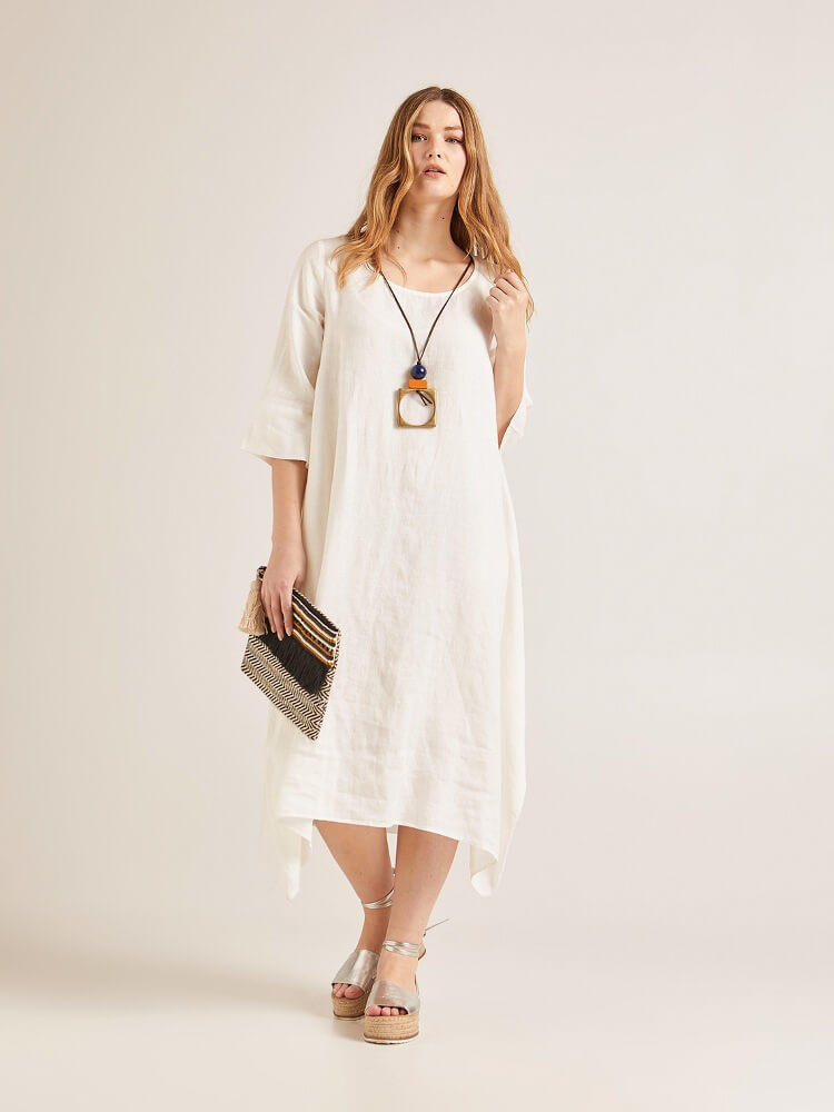 коллекция льняной одежды от Elena Miro