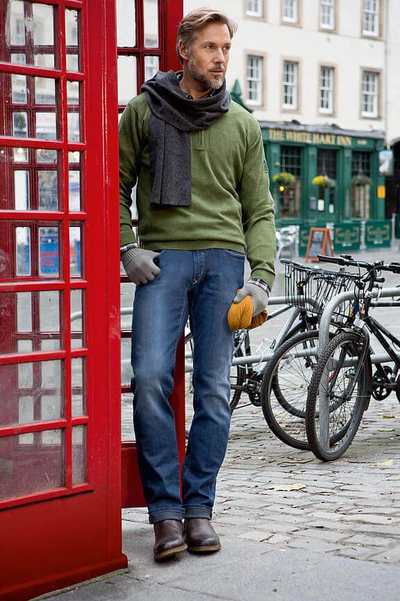 джинсы больших размеров для мужчин