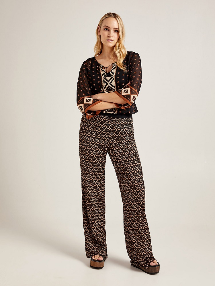 женские брюки для полных купить