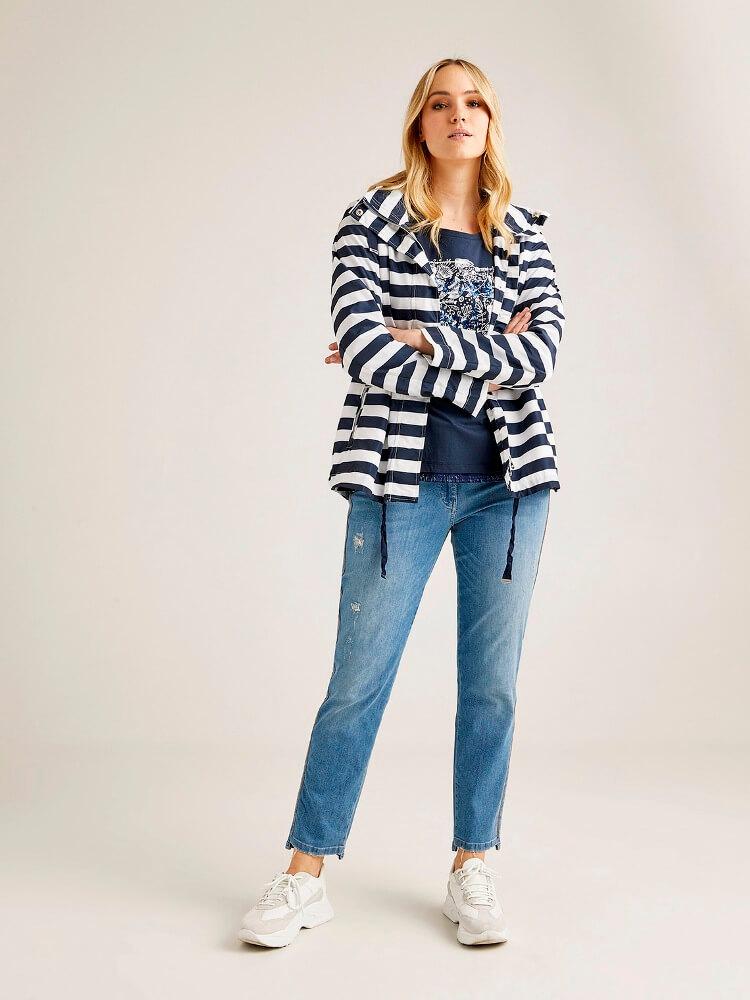 купить женские джинсы большого размера