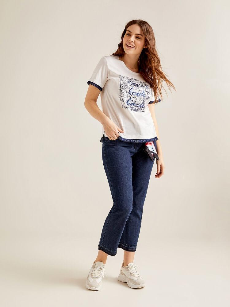 женские джинсы plus-size