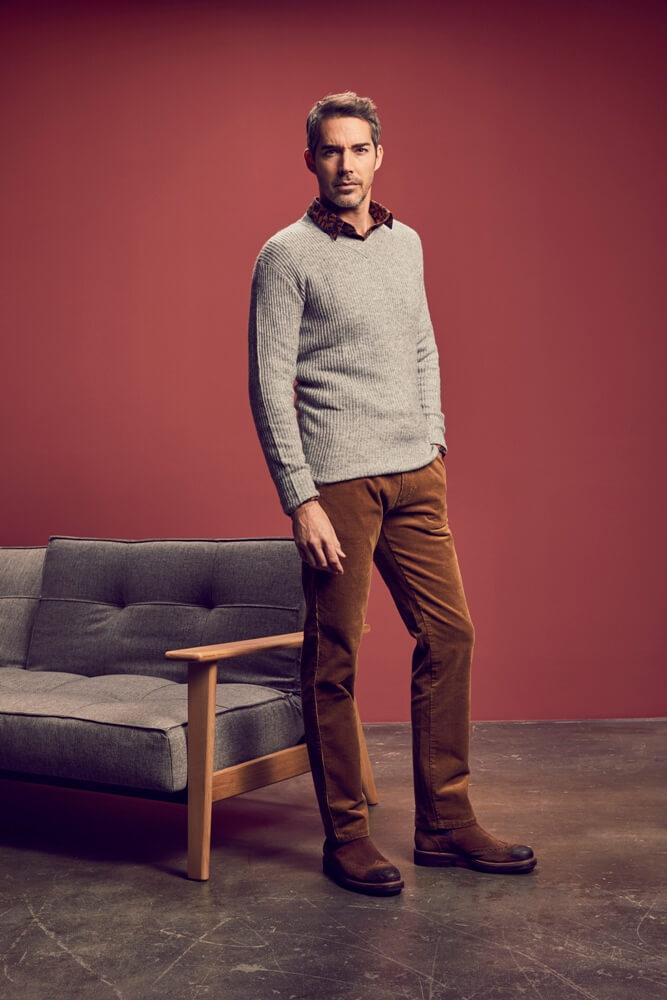 купить мужские брюки большого размера