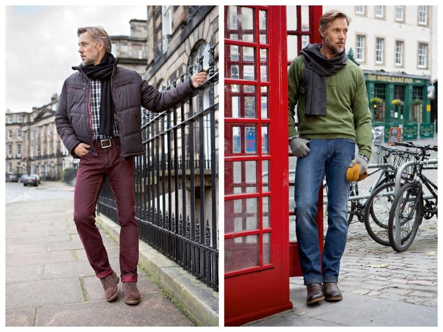мужская трендовая одежда в стиле Denim