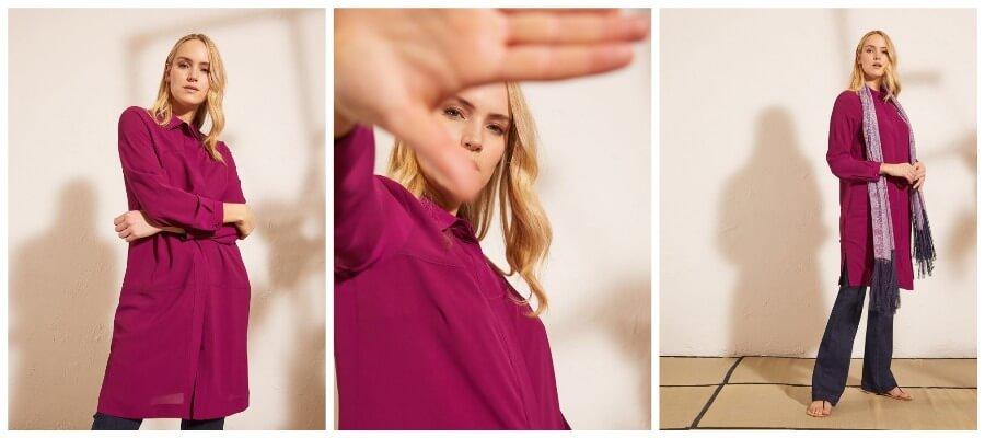 платья-рубашки от Елена Миро